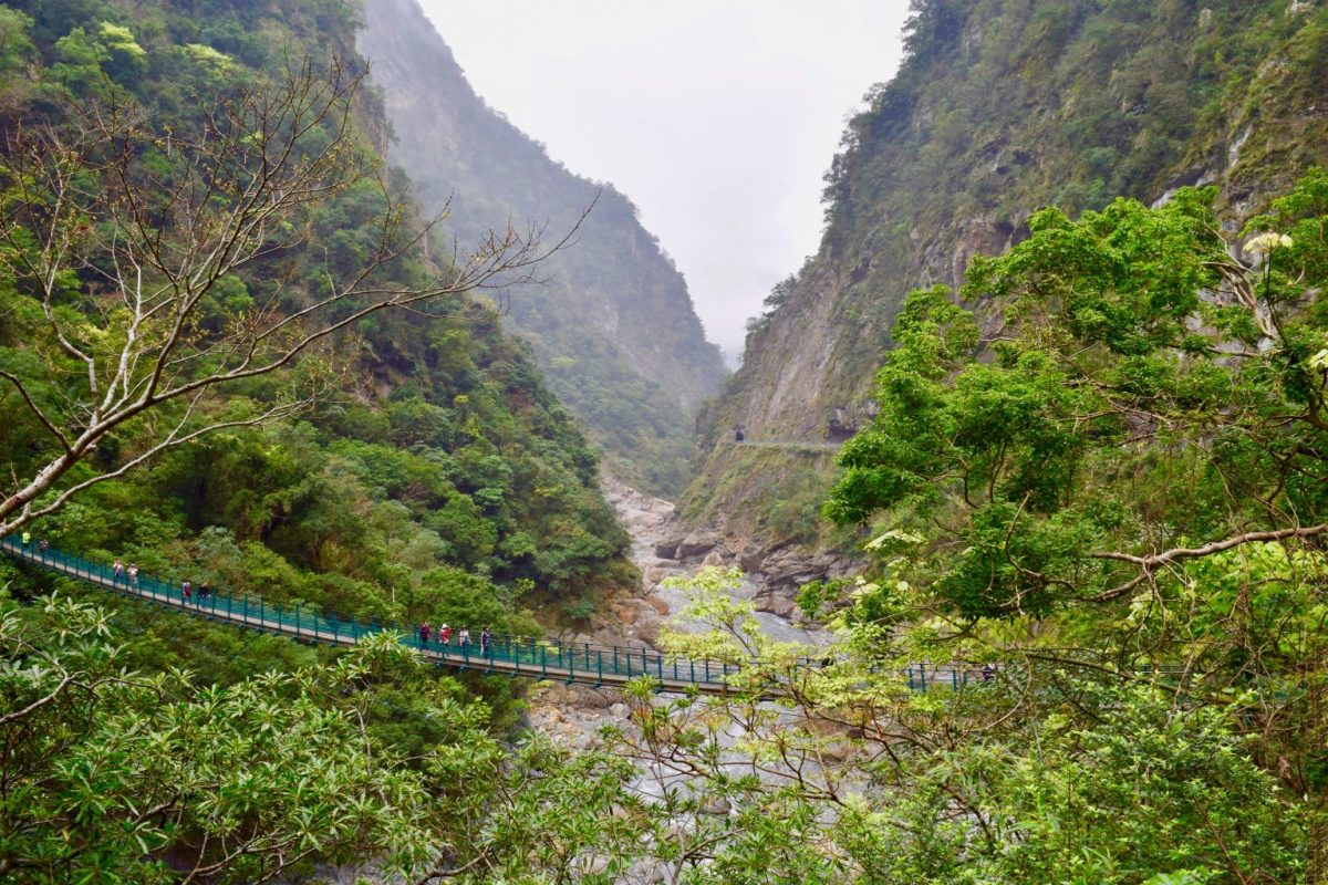 Taroko Gorge: Discovering Taiwan's marble mountains